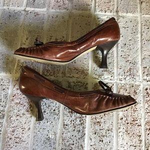 Seychelles Shoes - *Seychelles* brown granny heels size 10